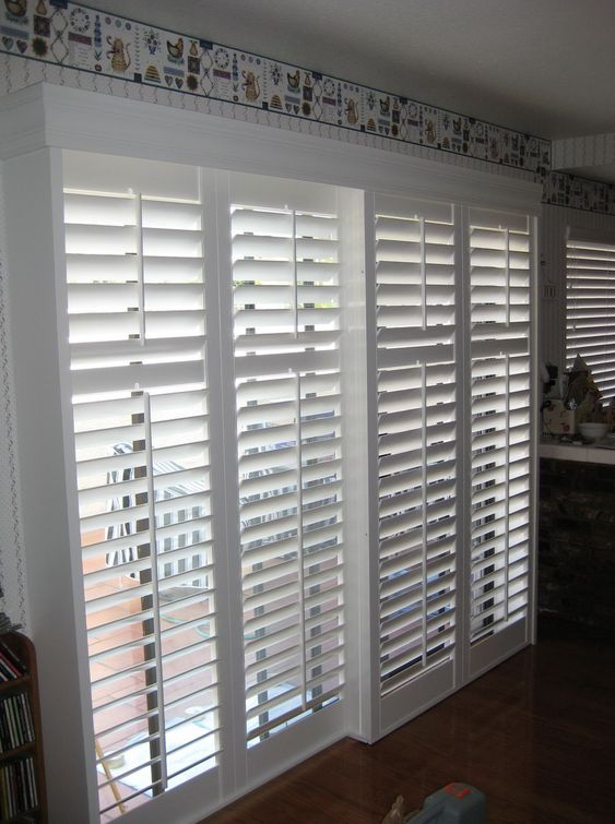 Custom Made Shutters by Blinds By Design Los Angeles