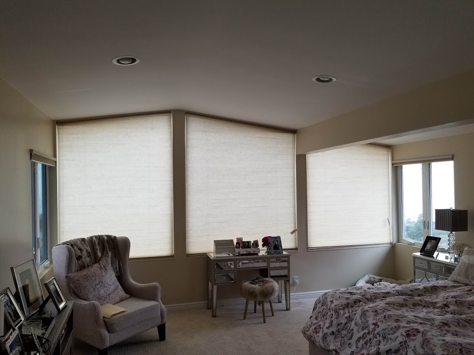 Honeycomb Shades by Blinds By Design Los Angeles