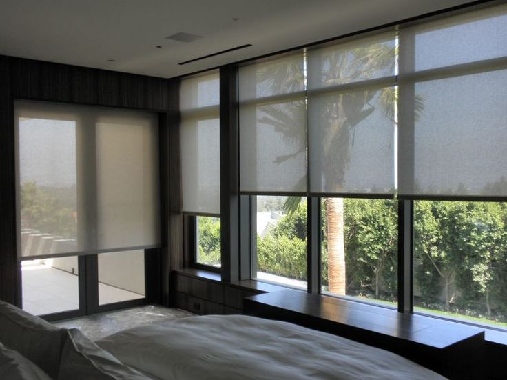 Window Shades by Blinds By Design Los Angeles